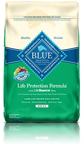 Blue Buffalo BLUE Adult Dog Lamb & Brown Rice 30 lb  Food