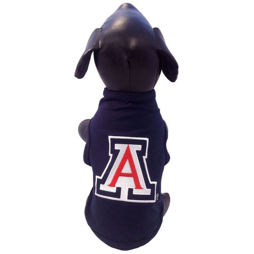 NCAA Arizona Wildcats Cotton Lycra Dog Tank Top, X-Small