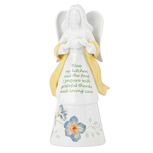 Lenox Butterfly Meadow Bless My Kitchen Angel Bell