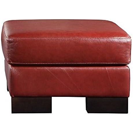 Coja Ani8434 SONICE Ottoman Teal Leather