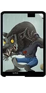 "Funda para Kindle Fire HD 7"" (2012 Version) - Hombre Lobo by GiordanoAita"