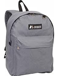 Everest Dark Grey Classic Backpack