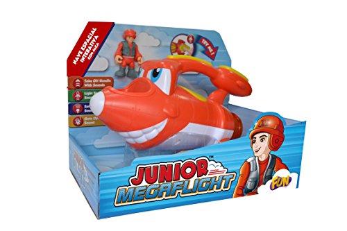 Junior Megaflight Nave Espacial Divirta-Se Fun Brinquedos Vermelho