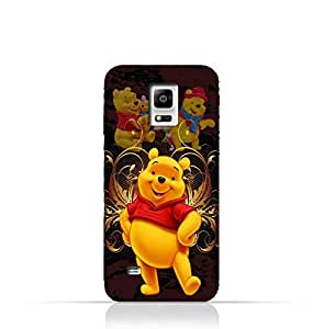 Samsung Galaxy Note 4 TPU Silicone Protective Case with Winnie the Pooh Design
