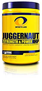 Infinite Labs Juggernaut HP Preworkout Supplement, Orange - 30 Servings (390 Grams)