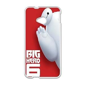 DIY Printed Big Hero 6 hard plastic case skin cover For HTC One M7 SNQ442315