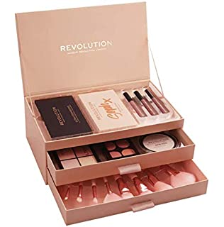 Christmas Makeup Gift Sets.Makeup Revolution 12 Days Of Christmas Makeup Gift Set