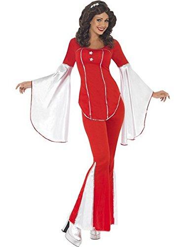 (Smiffys Super Trooper Costume, Red/White,)