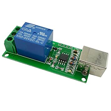 Aihasd 1 Channel 5V USB Relay Module Computer Control: Amazon co uk