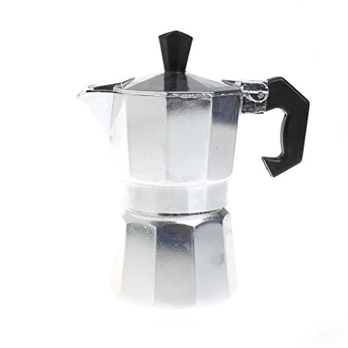 One Cup Latte Coffee Maker : SELFON Aluminum Stovetop Espresso Maker, 1 Cup Latte Mocha Coffee Pot Stove Top Maker Tool ...