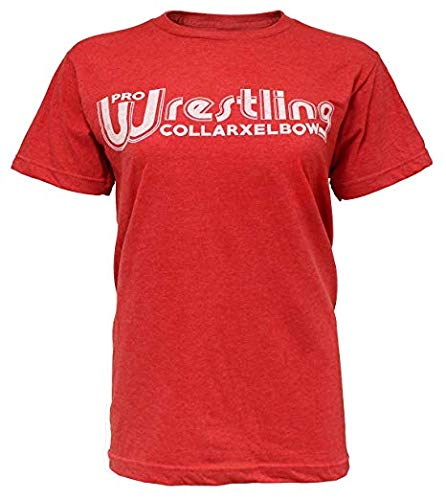 Pro Wrestling T-Shirt! Classic Red Wrestling Tee Shirt! (2XL)