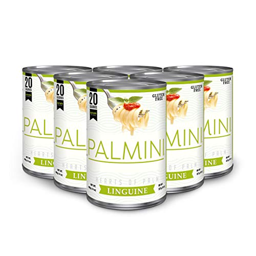 Palmini Low Carb Pasta | 4g of Carbs | As Seen On Shark Tank | 14 Oz. Can (6 Unit ()