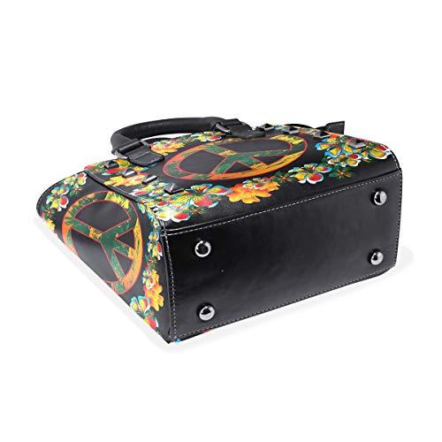 multicolor Bolso de Piel hombro DragonSwordlinsu para mujer Otra al Medium T8dq8Cw