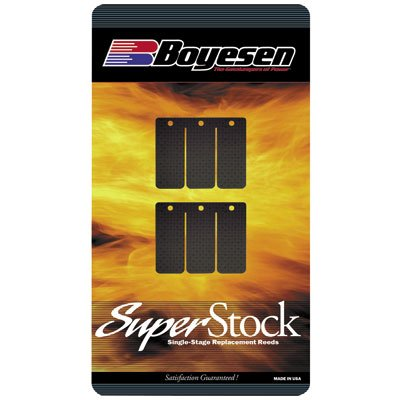 Boyesen Super Replacement Reeds Carbon for Yamaha YZ125 (Yz125 Reed)