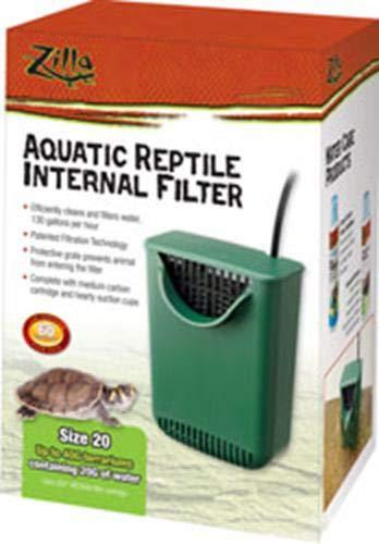(Zilla Aquatic Reptile Internal Filter - Size 20)
