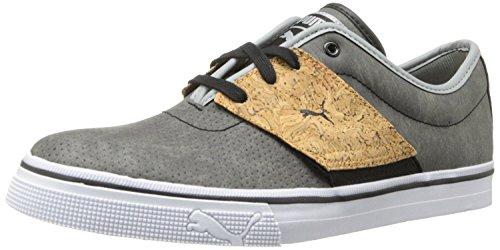 5 Pelle Nero D 7 Sneaker El 40 m Grigio Artigianalmente Puma Calcare Classico Mens Eu Uk Asso BPAqAw