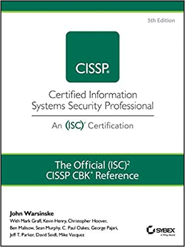 The ISC2 Guide to the CISSP CBK Fifth Edition