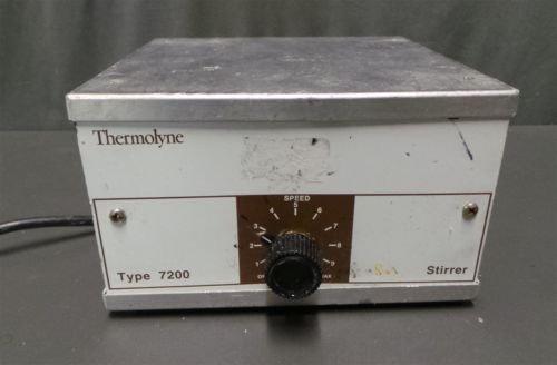 Thermolyne Type (Barnstead Thermolyne Stirrer 25W 120V 4AMP S7225 Type 7200)