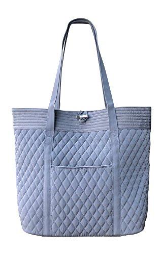 Vera Bradley Vera Tote Bag, Carbon Gray