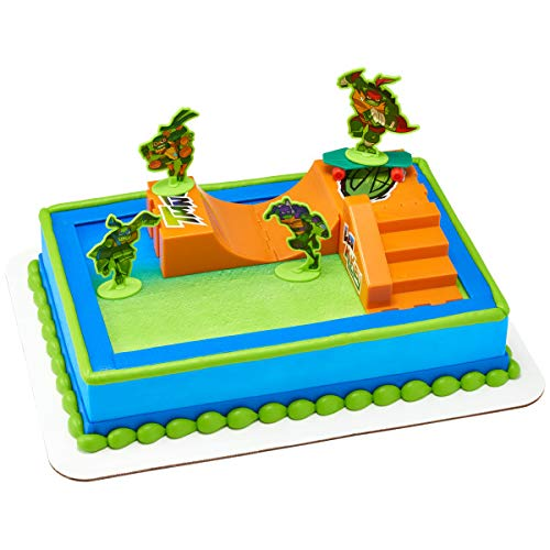 Decopac Rise of The Teenage Mutant Ninja Turtles TMNT Cake Deco Topper]()