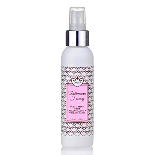 Delicious Lotion - Jaqua Buttercream Frosting Hydrating Body Mist w/ Organic Aloe