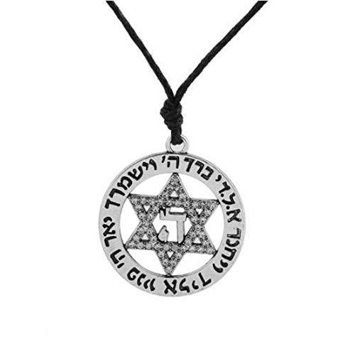 MrBigDeal Pewter Star of David Jewish Israel Sigil Islamic Quran Allah Talisman Pendant
