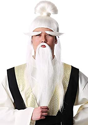Fun Costumes Adult Kill Bill PAI Mei Wig Standard: Amazon.es ...