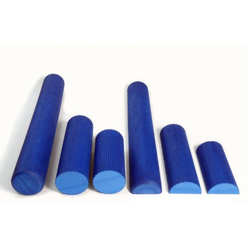 Bumps High Density EVA Foam Rollers Textured 6 Sizes, Made in USA, Bean Products