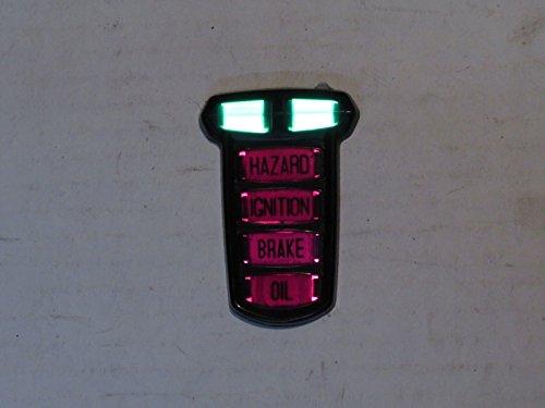 Lucas Dash Warning Lamp Cluster Bezel Brand Fits Jaguar XJ6 1969-1976 54363600 by Lucas