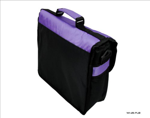 Purple HP Messenger Case Style amp; Black TouchPad for Trim Bag Carry Tablet New EvFIw
