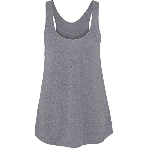 ladies Apparel Top Grey Tank Racerback Athletic Womens Triblend Polycotton American pqnTWRvxR