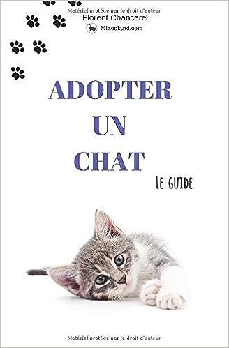 Amazon Fr Adopter Un Chat Le Guide Chancerel Florent Livres