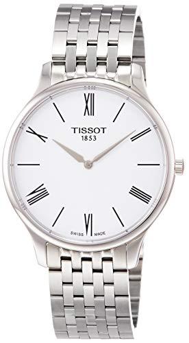 Tissot Men's Tradition - T0634091101800 White One Size (White Watch Tissot)