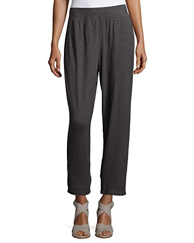 Eileen-Fisher-Hemp-Twist-Tapered-Ankle-Pants-Bark-PM-Medium-Petite