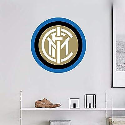 Inter Milan Wall Art Decal Sport Soccer Team Logo Sign Sticker
