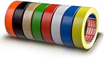 schwarz tesa 04104-00076-00 19 mm x 66 m Verpackungsklebeband 4104 4005800...