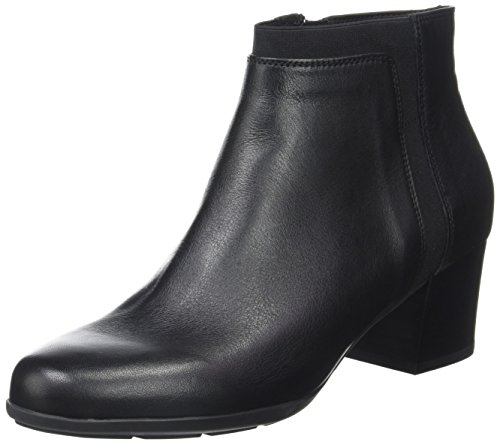 Geox D Annya Mid a, Botas Para Mujer Negro (Black)