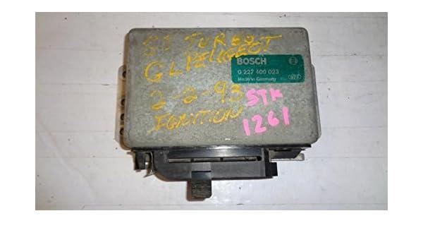 Amazon.com: 85-86 PEUGEOT 505 ENGINE ECM FUEL INJECTION CONTROL TURBO GAS 0227400023: Automotive