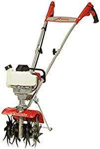 Mantis 7940 4-Cycle Gas Powered Cultivator, red