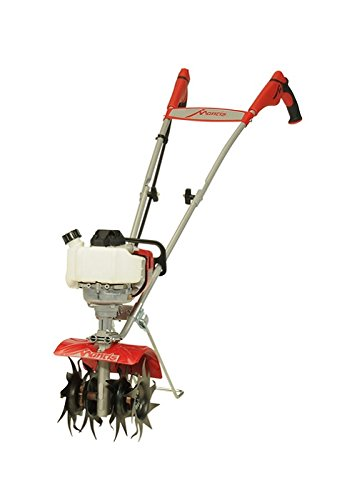 (Schiller Grounds Care Mantis 7940 4-Cycle Tiller Cultivator Powered by Honda - Lightweight, Powerful and Compact - No Fuel Mix, Sure-Grip Handles - Built to Be Durable and Dependable)