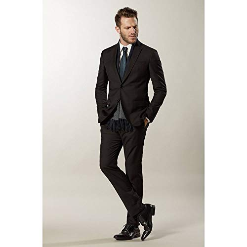 df8660255 COSTUME 02 BOTOES SLIM FIT PRETO / 54M