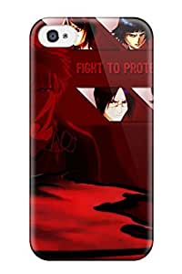New Style Tpu 4/4s Protective Case Cover/ Iphone Case - Bleach