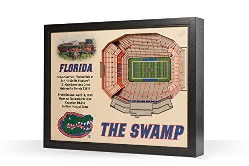 NCAA Florida Gators 25-Layer Stadiumviews 3D Wall - Stadium Gators Florida