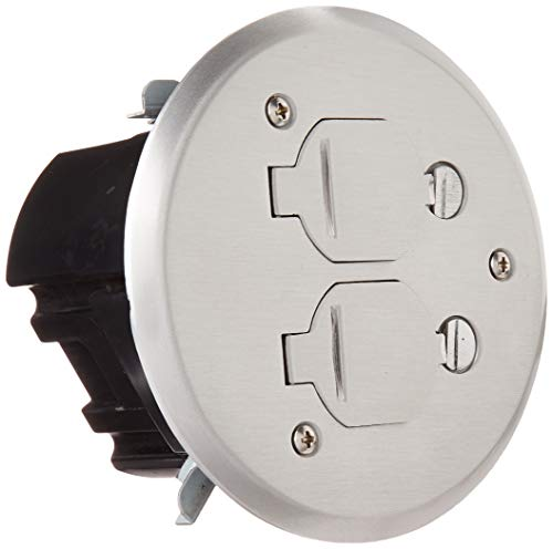 (Lew Electric Round Floor Box Kit w/PBR-FPA Cover )