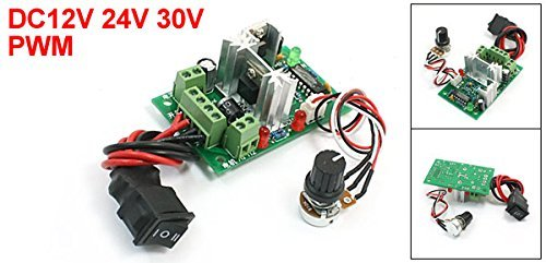 DealMux PWM Adjustable Volt DC Motor Speed Controller CCM2, 12V/24V/30V, 120W