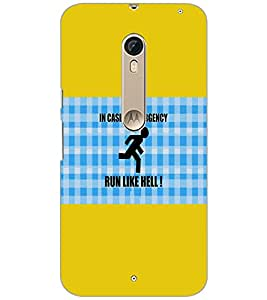 PrintDhaba Quote D-3101 Back Case Cover for MOTOROLA MOTO X PURE EDITION (Multi-Coloured)