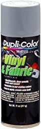 Dupli-Color (HVP109-6 PK) Medium Gray Vinyl and Fabric Coating - 11 oz. Aerosol, (Case of 6)