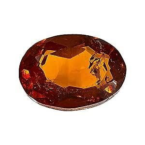 Faagems Unisex Natural Spessartite Garnet Gemstone