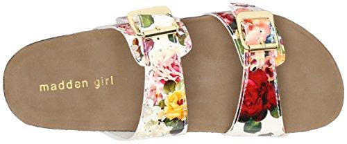 887865298632 - Madden Girl Women's Brando Flip Flop, White/Multi, 7.5 M US carousel main 7
