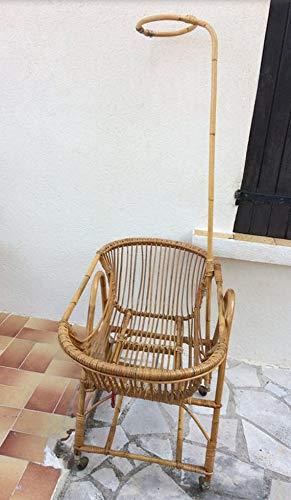 Amazon.com: Rattan Vintage – Cuna para niño/bebé – Vintage ...